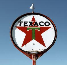 texaco ✮ vintage sign