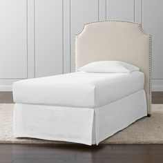 Create the perfect bedroom with a stylish bed from Crate and Barrel. Browse beds, headboards and bed frames in a variety of sizes and styles.