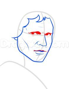 pencil drawings of han solo on star wars | how to draw han solo step 5