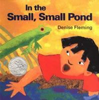 """Great website that has activites to renowned kids books. Such as Denise Flemings""""In the small small pond"""""""