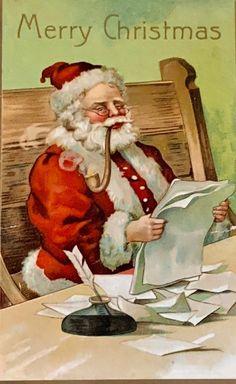Merry Christmas, Victorian Christmas, Father Christmas, Vintage Christmas Cards, Christmas Pictures, Christmas Greetings, Christmas Postcards, Christmas Mantles, Christmas Christmas