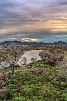 Desert River by Chad Schwartzenberger on 500px