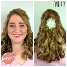 Bridal hair and makeup by Makeup for Your Day. #hair #airbrush #makeup #lashes #wedding #bride #southernwedding #makeupartist #hairstylist #mydbeauty