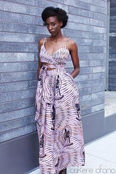 THE ZALINKA Wrap Crop Top in . Shop the new Asikere Afana Collection. African fashion, Ankara, kitenge, Dashiki Dress, Infinity Dress, Wrap Dress, African women dresses, African prints. African Bridal, mudcloth, African prom dress, African graduation dress. Pink by AsikereAfana on Etsy