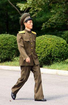 soldier. north korea