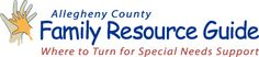 Family Resource Guide for Special Needs Support. A ton of resources for all different situations, and family support as well!