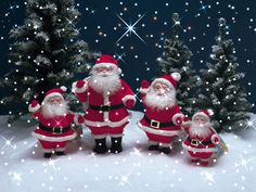 Зима Рождество 5