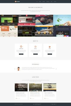 'Webzoo Design' #webdesign #portfolio #Joomla 3 Template http://www.zign.be/