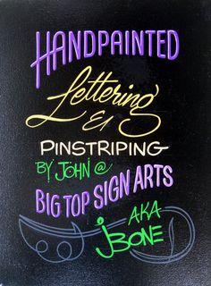Big Top Sign Arts