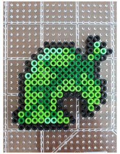 Easy Perler Bead Patterns, Melty Bead Patterns, Perler Bead Templates, Beading Patterns, Easy Perler Beads Ideas, Pokemon Perler Beads, Diy Perler Beads, Perler Bead Art, Hamma Beads Ideas