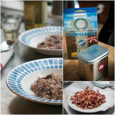 Bacon and Radicchio Risotto by David Lebovitz, via Flickr
