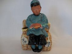 Lot # : 205 - Vintage Chinese Boy Planter 1945 McCarty Bros CA