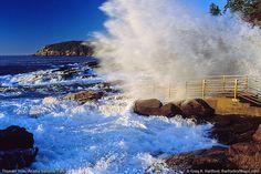thunder hole acadia national park | Thunder Hole in Acadia National Park, ME is a breathtaking view