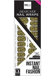 NCLA Nail Wraps Jungle Fever ** To view further for this item, visit the image link. Note:It is Affiliate Link to Amazon.