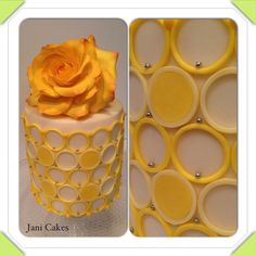 Gumpaste rose, fondant and modelling chocolate - by Jani Cakes
