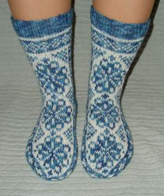 Fire weed socks. Original design from Ravelry by Rose Hiver.