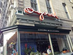 Fantastic and creative Mexican restaurant in downtown DC.
