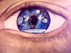quadro dipinto su stoffa