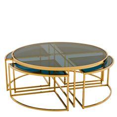 Eichholtz Padova Coffee Table - Brass