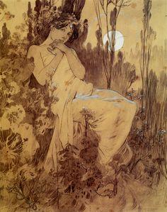 Alphonse Mucha, 1899