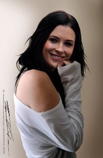 Bridget Regan <3 Love this drawing by Tammy!  Another possibility to play McCoy's wife...