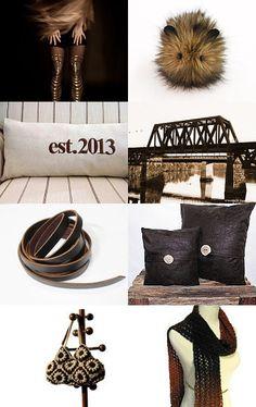 A jewelry by NaLa Etsy treasury ... https://www.etsy.com/treasury/NzQ0NzM5M3wyNzI0OTU2MzQy/burnt-umber #jewelry #fashion #brown