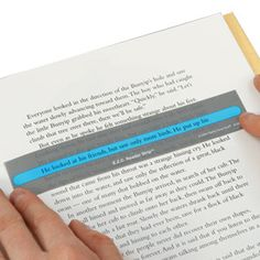 E.Z.C. Reader Strips help your students track print.  They are a definite must-have!