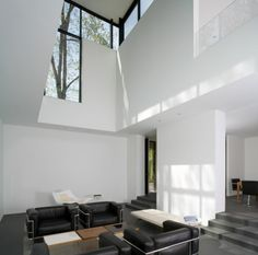Windows. Dream Home : Black White Residence by David Jameson Architect