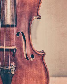 Violín Fine Art fotografía violín foto por KEnzPhotography en Etsy