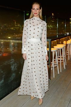 Best Dressed Celebrities This Week: 24 November | Harper's Bazaar Poppy Delevigne in London celebrating launch of her book