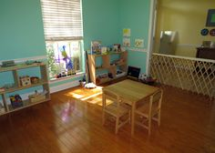 A tour of a Montessori home environment (for a toddler) at GG's Journey blog.