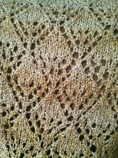 Ravelry: Diamond Knit Shawl pattern by Lion Brand Yarn
