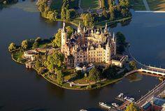 Schwerin Castle, #Germany
