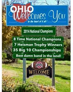 The Ohio State University Football Team / National Champions . Buckeyes Football, Ohio State Football, Ohio State Buckeyes, College Football, Football Team, American Football, Football Memes, Oklahoma Sooners, Buckeye Sports