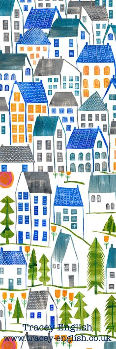 Townscape by Tracey English www.tracey-english.co.uk