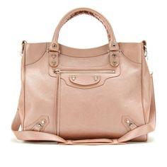 Balenciaga Velo Leather Tote ($1,795) ❤ liked on Polyvore