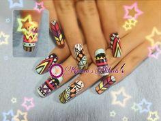 #nails #uñasbellas #uñasacrilicas #acrilycnails #uñas #diseño #kimerasnails #glitter #nude #fashionnails #fashion #sculpturenails #esculturales #sculpture #colores # paint