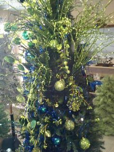 The Blue n Green Tree