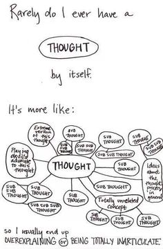 My overcomplicated brain.