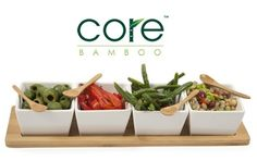 Stylish Bamboo Dining Accessories with Shipping Included (Up to $60 Value)