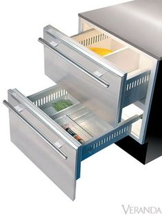 SubZero Refrigerator Drawers www.plazabrandsource.com
