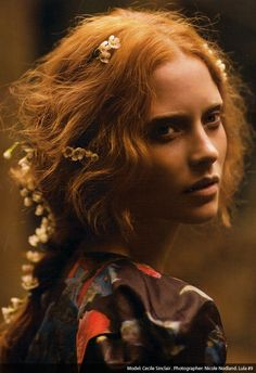 Autumn Hair trend- inspired by the art of the Pre-Raphaelite Brotherhood <3