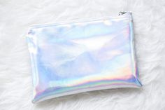 Holographic Pouch via Pastel House. Click on the image to see more!