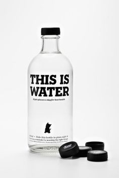 This is water #design #packaging