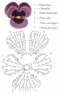 15 Ideas crochet lace applique pattern for 2019 Diy Crochet Flowers, Crochet Flower Tutorial, Crochet Leaves, Crochet Art, Cute Crochet, Irish Crochet, Diy Flower, Crochet Motif Patterns, Granny Square Crochet Pattern