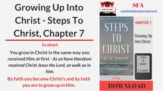 Steps To Christ, Chapter 1 - The Sinner's Need Of Christ. In Short: Why does sinner need help? Why only Christ could provide that remedy? Learn more today. The Son Of Man, Son Of God, 5 Logo, Knowing God, Before Us, Jesus Quotes, The Life, Gods Love, Confessions