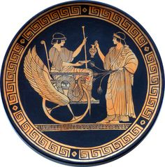 Hey, I found this really awesome Etsy listing at https://www.etsy.com/listing/254677371/a-myth-in-a-terracotta-plate-demeter-and