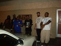 Some of the F.O.E fam outside of the P-Thoro show last night