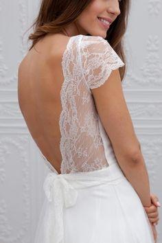 Marie Laporte robe de mariee 2015 - La Fiancee du Panda blog mariage Esther_3detail