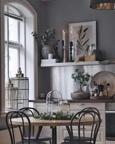 Missing this place🖤 ~~~~~~~~~~~~~~~~~~~~~~~~~~~~~~~~~~ Nordic Home, Home Staging, Home Decor Inspiration, Decoration, Floating Shelves, Entryway Tables, Table Settings, Living Room, Interior Design